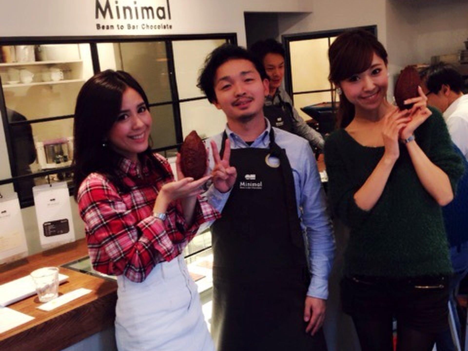 """12月1日NEWオープン!チョコレートの製造工程が全部見れるチョコ専門店""""Minimal"""""""