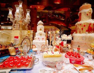 予約は早めに!ヒルトン東京 マーブルラウンジ「アリスinクリスマス・マジック」かわいいが止まらないデザートビュッフェ!?