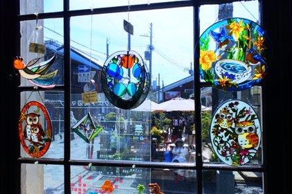 黒壁ガラス館