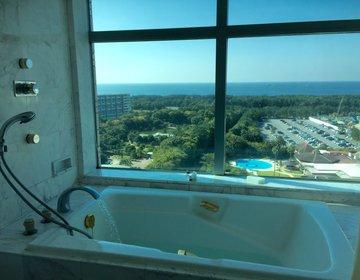 千葉・幕張☆海を眺めながら入浴!非日常体験・近くのリゾート★アウトレットもすぐ!駅近、駐車場無料
