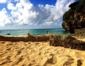 """【沖縄×観光スポット】まるでプライベートビーチのような超穴場""""長浜ビーチ""""がおすすめ"""
