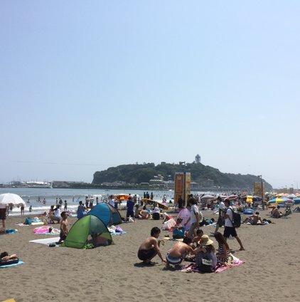 片瀬東浜海水浴場