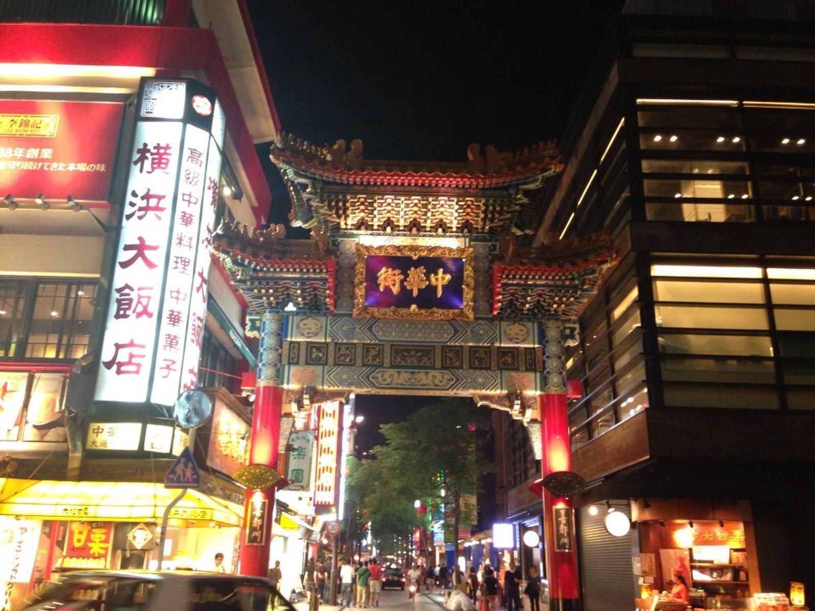 横浜中華街 東門