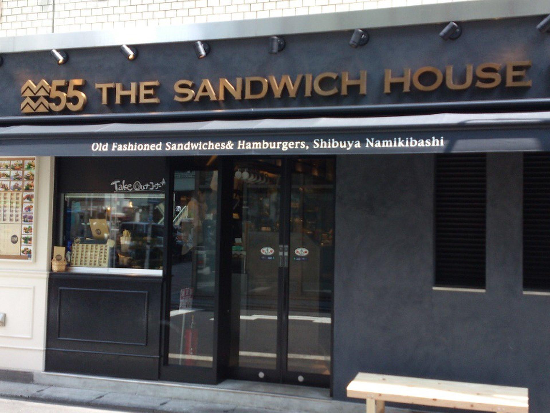 【2014年夏オープン注目渋谷グルメスポット】サンドイッチ専門店「55」でおしゃれランチ♡
