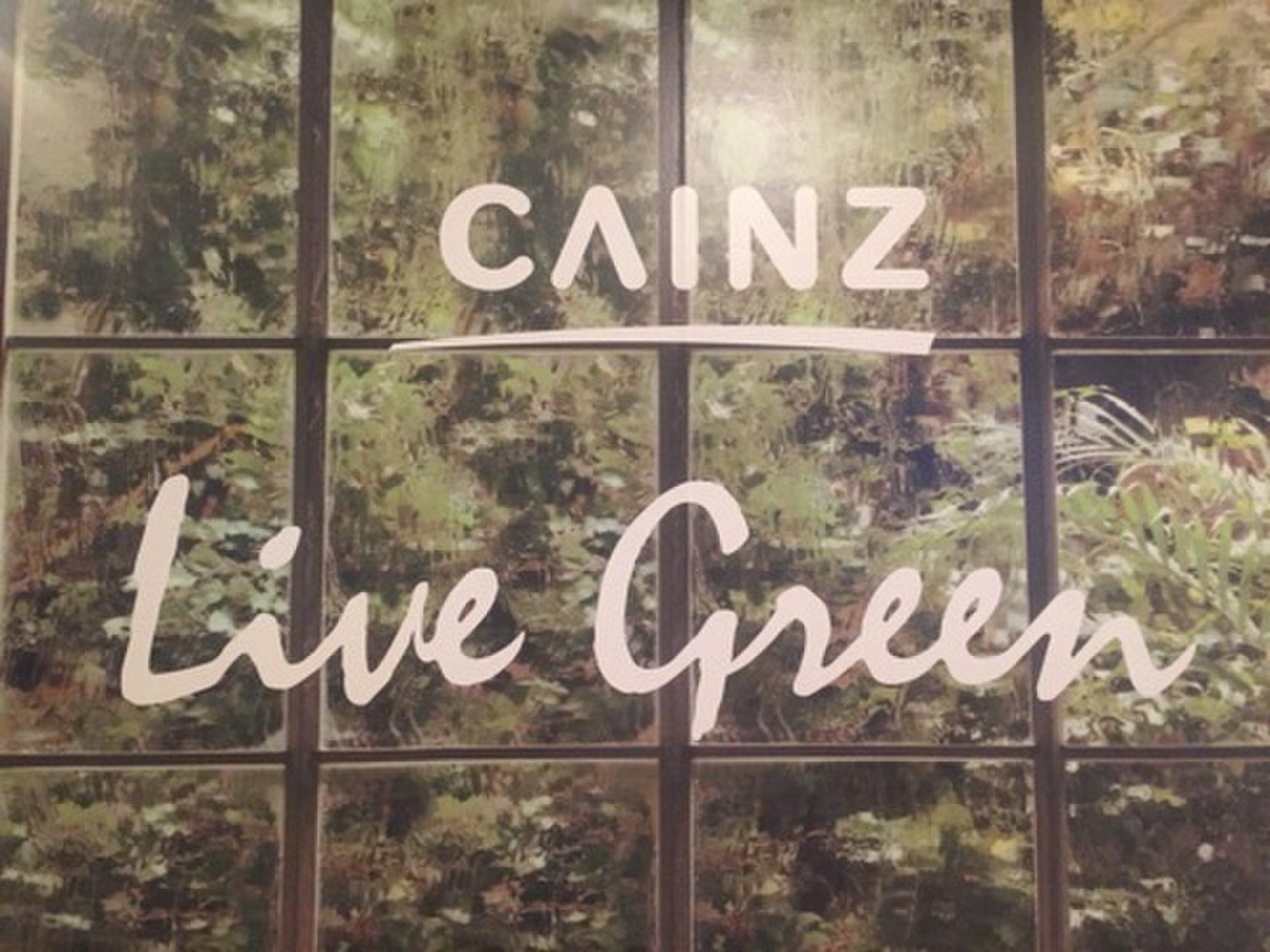 【期間限定】「CAINZ」の期間限定ショップ CAINZ LiveGreen STORE