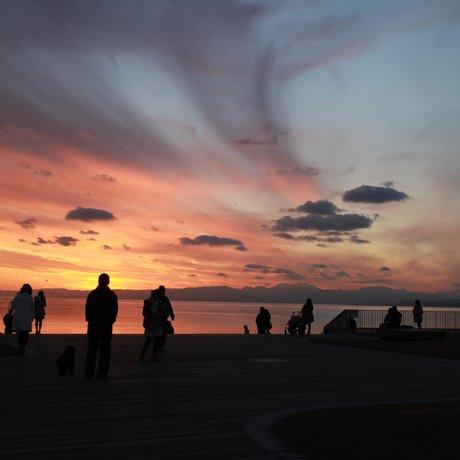 江の島弁天橋 龍燈