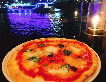 食べログ3.58!天王洲アイルで海と夜景を楽しむ水上ラウンジデートがおすすめ。
