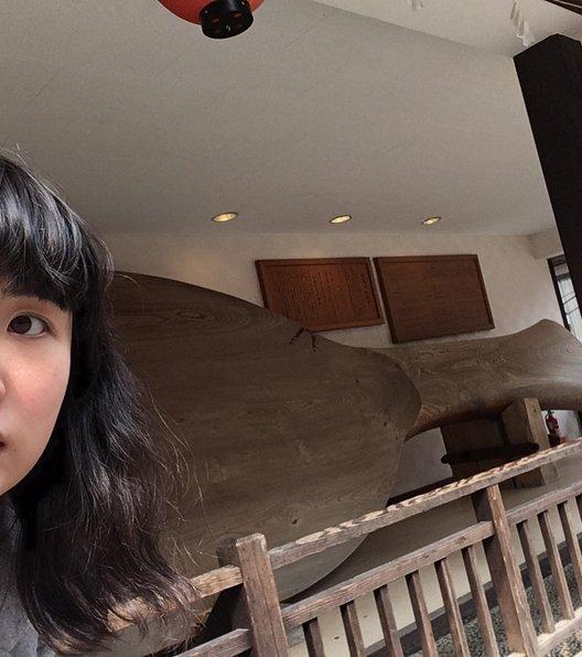 宮島の大杓子