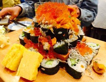 【至上最高の誕生日特典】年齢の数だけ豪華寿司が無料!ウニやイクラがてんこ盛り!これは行くっきゃない!