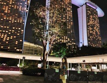 夜のマリーナベイサンズ♡絶景イルミネーションおすすめ観光スポット