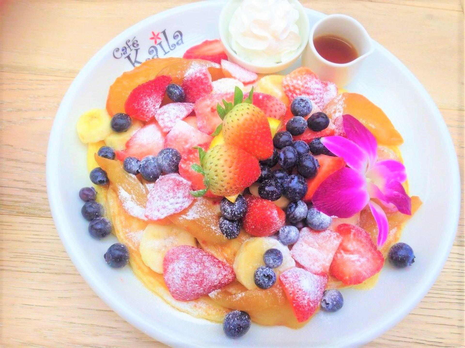 【表参道・原宿パンケーキ】鉄板!ハワイアンパンケーキ☆カフェカイラ☆