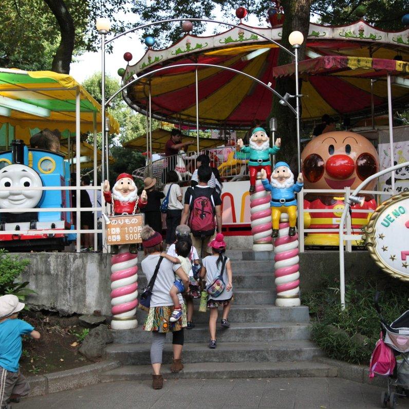 【閉業】上野こども遊園地