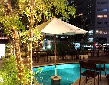 【渋谷で史上最強にロマンチックなディナーデート】都会に突如現れたオアシス、347cafe