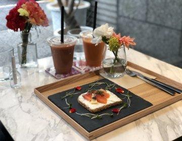 【インスタ映え】原宿おすすめカフェ♡混まない・エディブルフラワー・お花屋併設カフェ