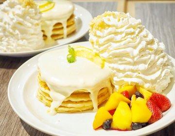 【ゆーきの実食レポ】本日7/2より!エッグスンシングスからレアチーズ一色のパンケーキが期間限定販売!