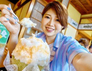 最強の生メロンかき氷。ど田舎のオアシス、笠間にある古民家カフェ「雪みるく」茨城のおいしいかき氷専門店