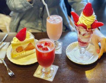 東京おすすめいちごスイーツ!いちご女子会するならココ♡小岩駅おすすめカフェ