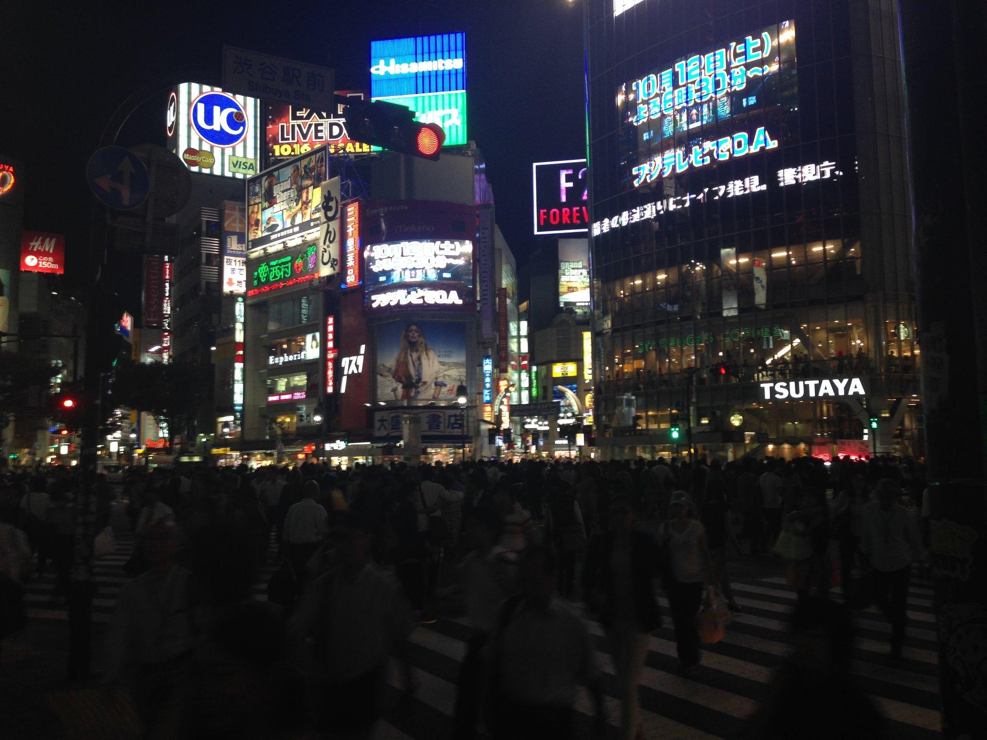 【カップルで真夜中デート】夜の都会はこんなにもエキサイティング!思いっきり渋谷を堪能しよう