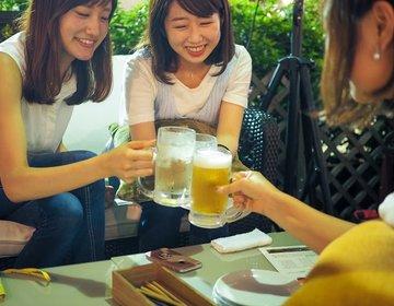 【夏の女子会はビアガーデン◎】渋谷東急ビアガーデンkawara GARDENで夏の夜を満喫♡