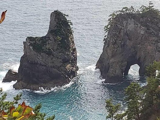 北山崎展望台