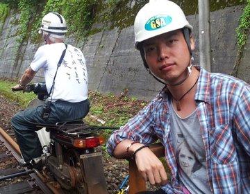 【飛騨高山で人気の神岡鉄道のレールマウンテンバイク】白神山地付近から超穴場ツーリング!