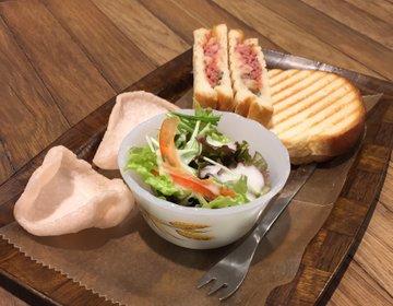 【三宮駅地下で食べるコンビーフサンド】さんちかにあるオシャレカフェCATTLEYAへ行ってみよう!