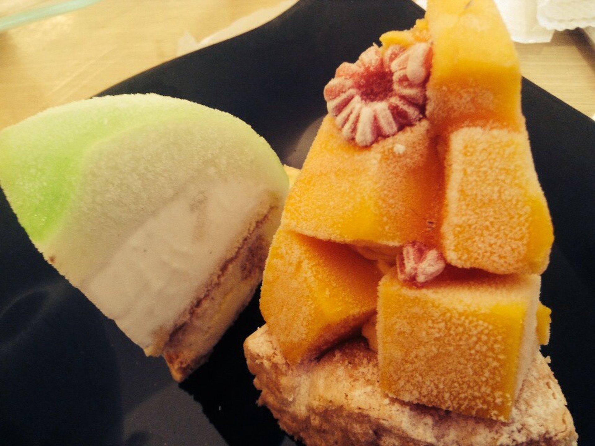 表参道にあるお洒落で可愛いアイスケーキ付ランチを楽しもう♡