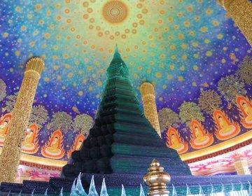女子旅におすすめ!バンコクにあるフォトジェニックな寺院「ワットパクナム」に行ってみた♡