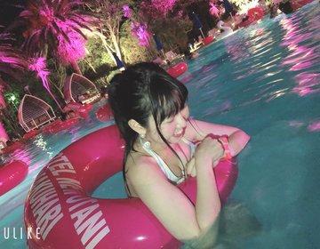 最安2,500円のホテルナイトプールが最強だった!?ニューオータニ幕張のプールが穴場ですぎた!