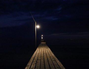 【千葉の新たな撮影スポット】原岡海岸で夜の桟橋を激写せよ!