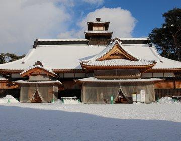 【函館】幕末の風を感じよう♪雪化粧をした五稜郭と箱館奉行所を行く!