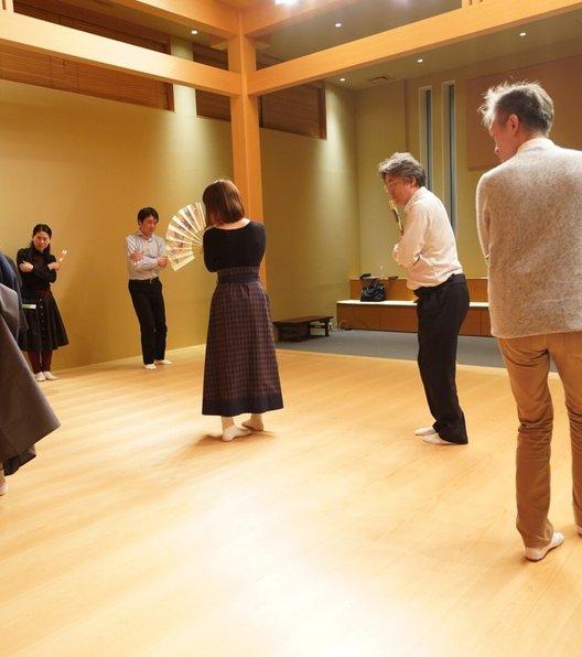 池田山舞台