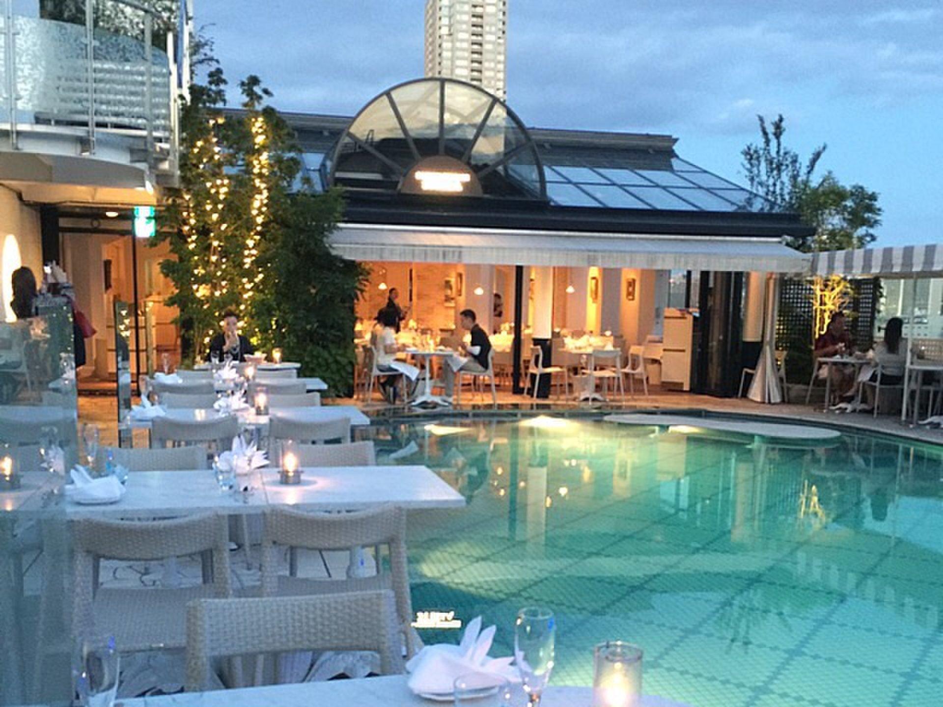 都内地上34m天空レストラン『青山ラピュタガーデン』秘密隠れ家大人リゾート‼︎イタリアン女子会デート