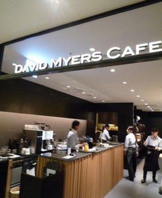 デイビット・マイヤーズ カフェ
