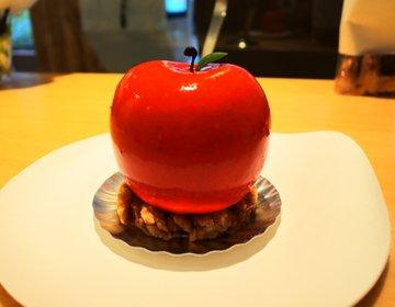 【京橋・カフェ】新鮮すぎるスイーツ店!オーダーしてから作られる生しぼりモンブランと芸術的なケーキ♡