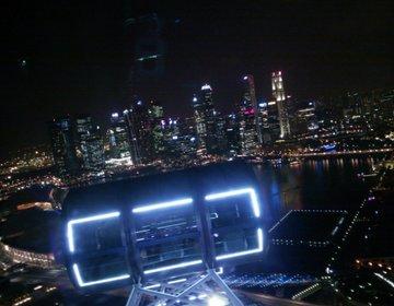 最高のシンガポールデートを過ごしたい人必見「シンガポールフライヤー」で絶景夜景デートコース
