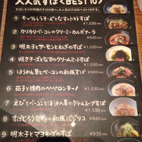 釜あげスパゲティ すぱじろう 六本木店