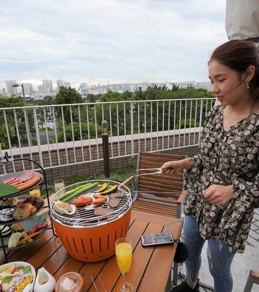 「アブレイズ」for  シースケープ テラス・ダイニング ヒルトン東京お台場