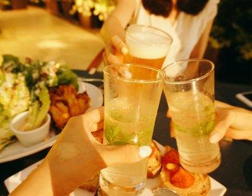 【ビアガーデン2016!】夏の夜風を感じながら、新宿machiavelliのビアテラスで女子会♡