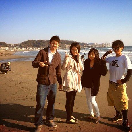 片瀬西浜海水浴場