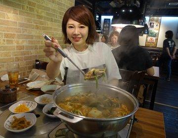 クソ暑い夏に「エアコンの効いたお店で鍋を食べる」という贅沢な空間。新大久保おすすタッカンマリ