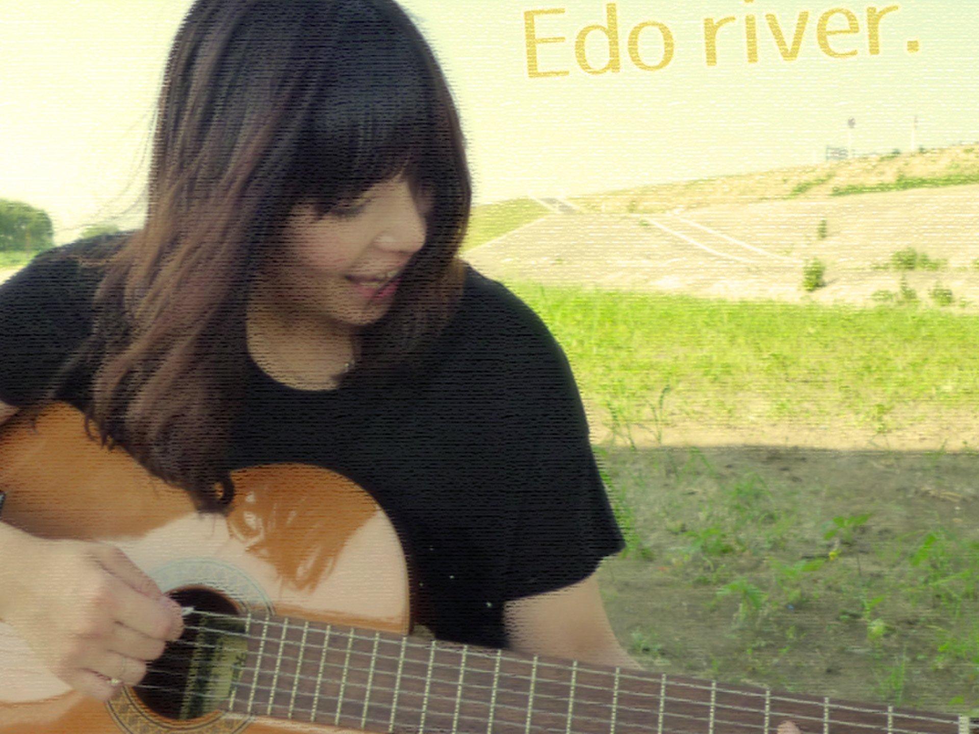 ギターを持って江戸川の河川敷で遊ぼう。花火大会や釣りだけじゃないぞ!
