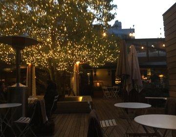 大学生の大人デートは表参道で決まり☆イルミネーションのあるカフェで冬の夕方デート♡