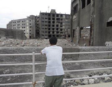 【長崎 軍艦島】今は誰も住んでいない世界遺産「廃墟の島」で、たそがれる旅