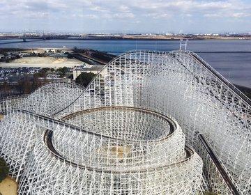 名古屋近郊の人気遊園地「ナガシマスパーランド」!2018年絶叫マシーンがすごすぎた!