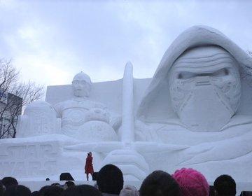 さっぽろ雪まつり2017 雪像&おすすめグルメまとめ♪