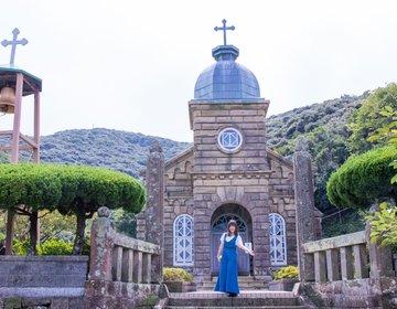 五島列島の祈りの島「上五島」を観光!美しい教会や五島うどんまで♡