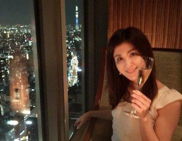 日本橋のビジネス街の中心で飲むならここ⭐︎ Mandarin Oriental Hotel