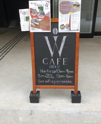 W CAFE 原宿