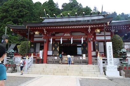 大山阿夫利神社下社拝殿